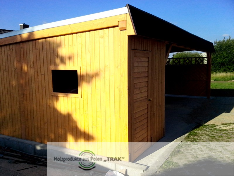 carport asu holz projekte13 005 carports aus polen. Black Bedroom Furniture Sets. Home Design Ideas