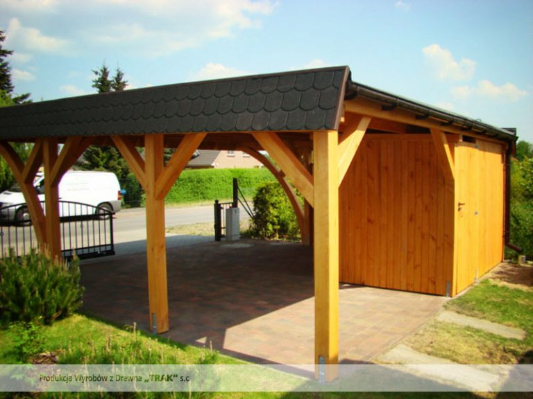 carport asu holz projekte13 008 carports aus polen. Black Bedroom Furniture Sets. Home Design Ideas