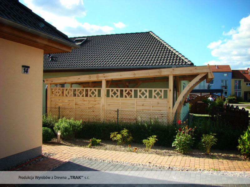 carport aus holz projekte11 002 carports aus polen. Black Bedroom Furniture Sets. Home Design Ideas