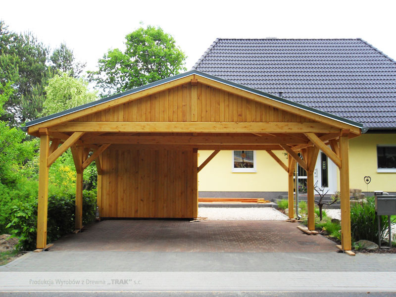 carport aus holz projekte8 002 carports aus polen. Black Bedroom Furniture Sets. Home Design Ideas