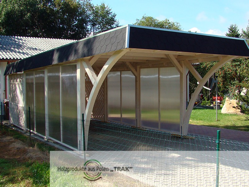 carports aus holz projekte9 005 carports aus polen. Black Bedroom Furniture Sets. Home Design Ideas
