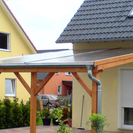 terrassen berdachung mit doppelstegplatte. Black Bedroom Furniture Sets. Home Design Ideas