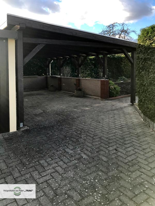 carport nach mass projekte22 005 carports aus polen. Black Bedroom Furniture Sets. Home Design Ideas