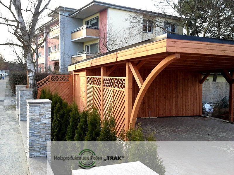 carport aus holz projekte11 005 carports aus polen. Black Bedroom Furniture Sets. Home Design Ideas