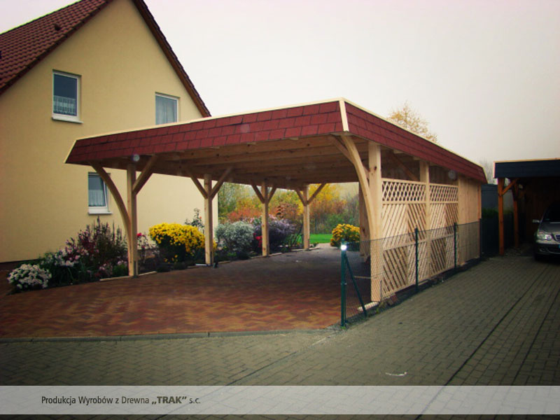 carport aus holz projekte12 003 carports aus polen. Black Bedroom Furniture Sets. Home Design Ideas