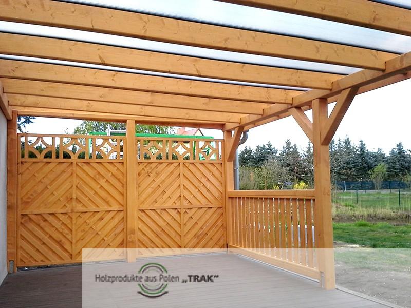 pavillon aus holz projekte5 007 carports aus polen. Black Bedroom Furniture Sets. Home Design Ideas
