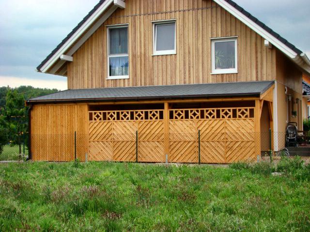 pulldach carport projekte3 004 carports aus polen. Black Bedroom Furniture Sets. Home Design Ideas
