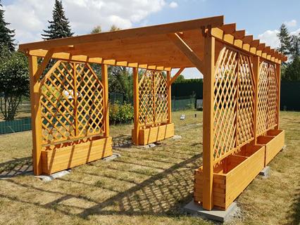 Pavilion aus holz